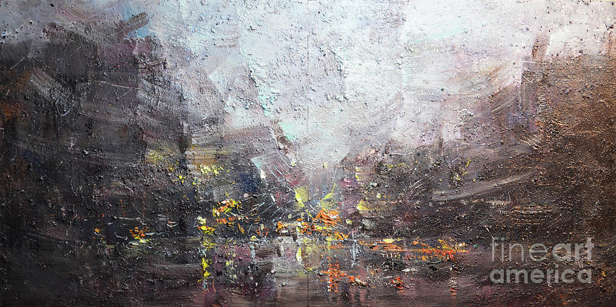 Abstract Cityscape #0096LP by Jack Jung