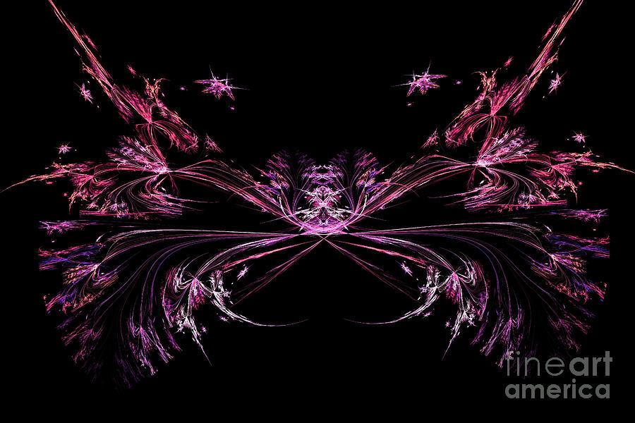Abstract constellation cancer by Marina Usmanskaya
