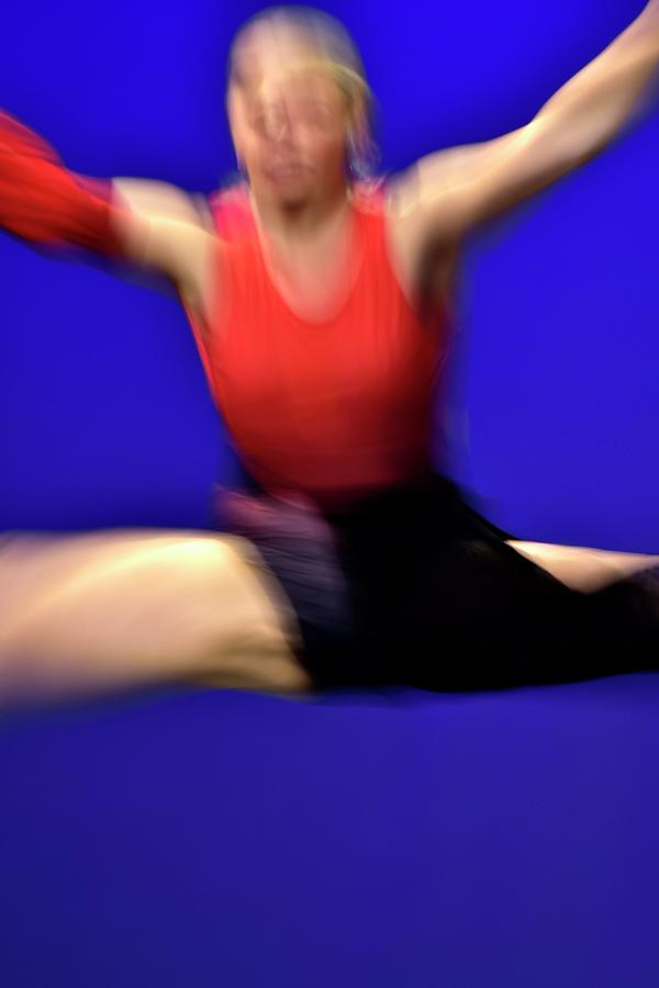 Abstract Dancer In Air Photograph