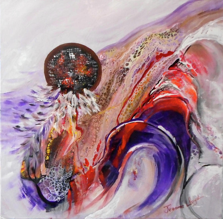 Abstract Dream Catcher