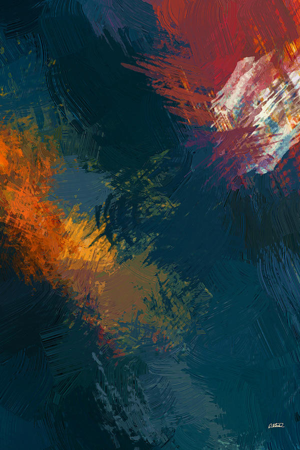 Abstract Painting - Abstract - Dwp1534312 by Dean Wittle