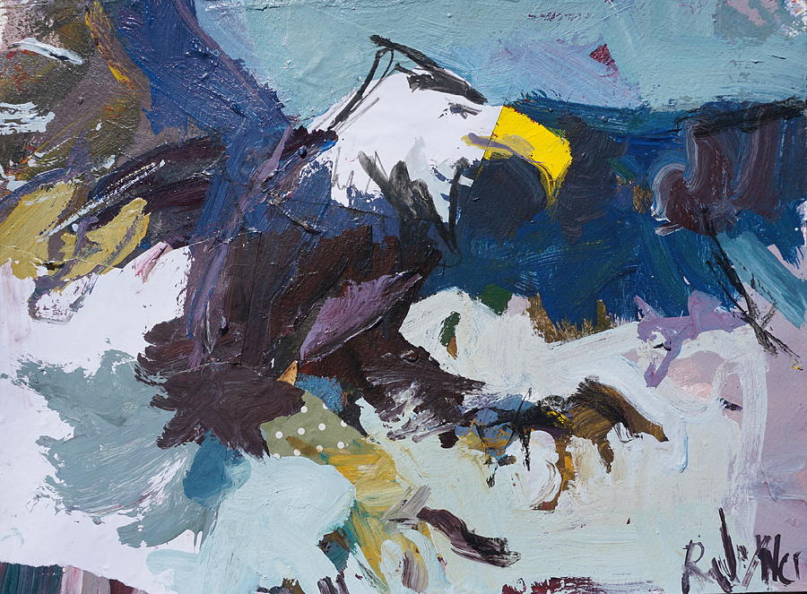 Eagle Painting - Abstract Eagle Painting by Robert Joyner
