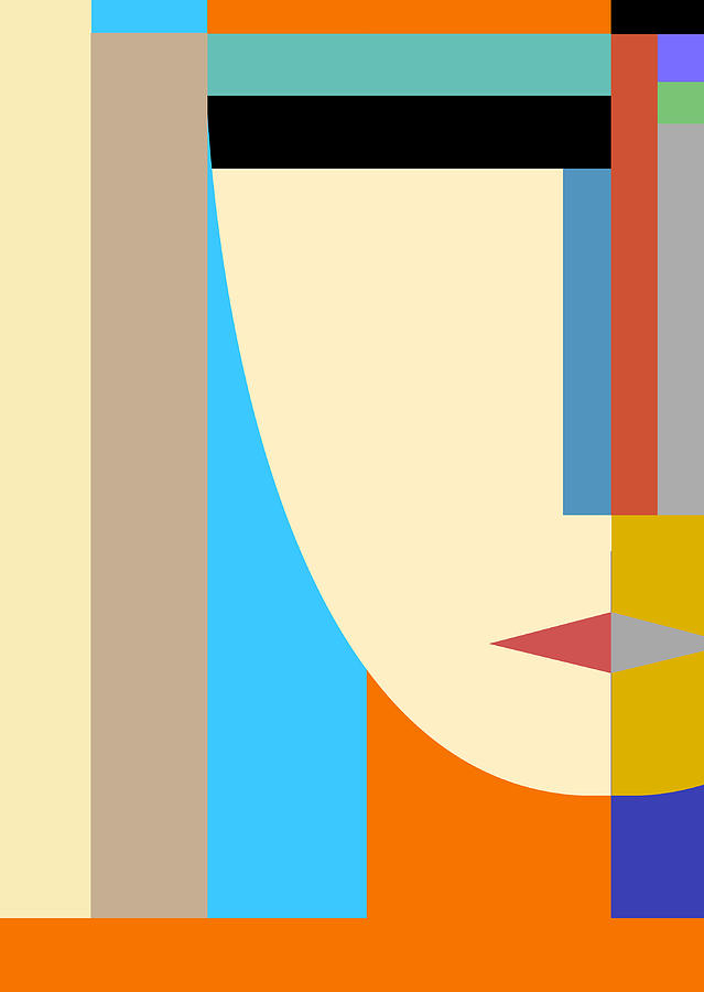 Abstract Face by Art Spectrum