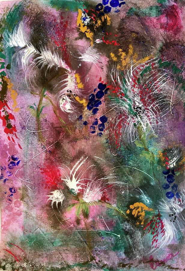 Abstract Floral by Laura Jaffe