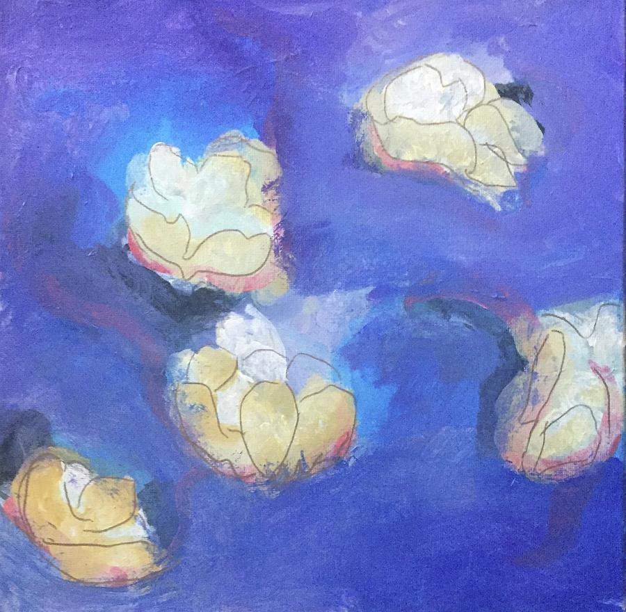 Abstract Flower 1 by Cherylene Henderson