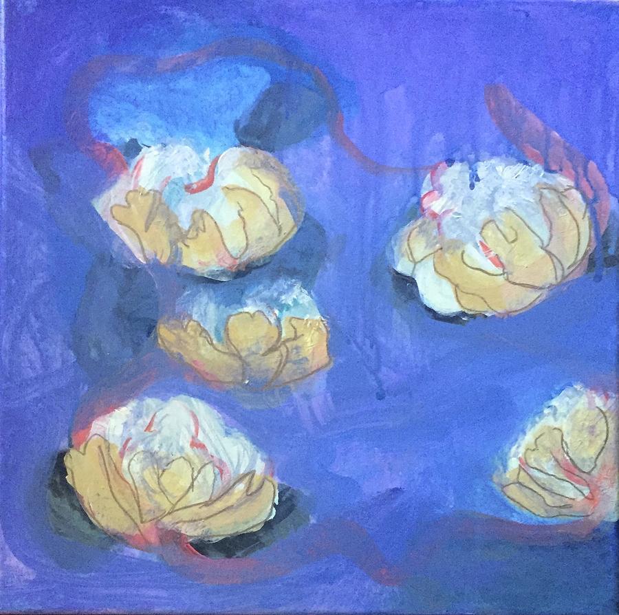 Abstract Flower 2 by Cherylene Henderson