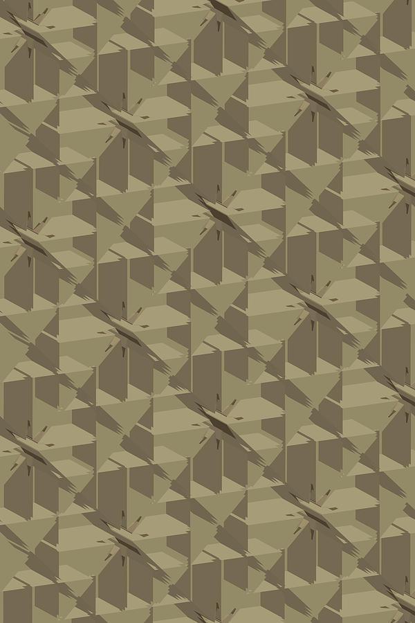 Abstract Geo Bg Digital Art