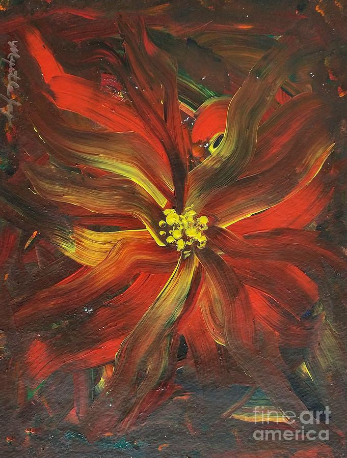 Abstract In Bloom by MYRTLE JOY