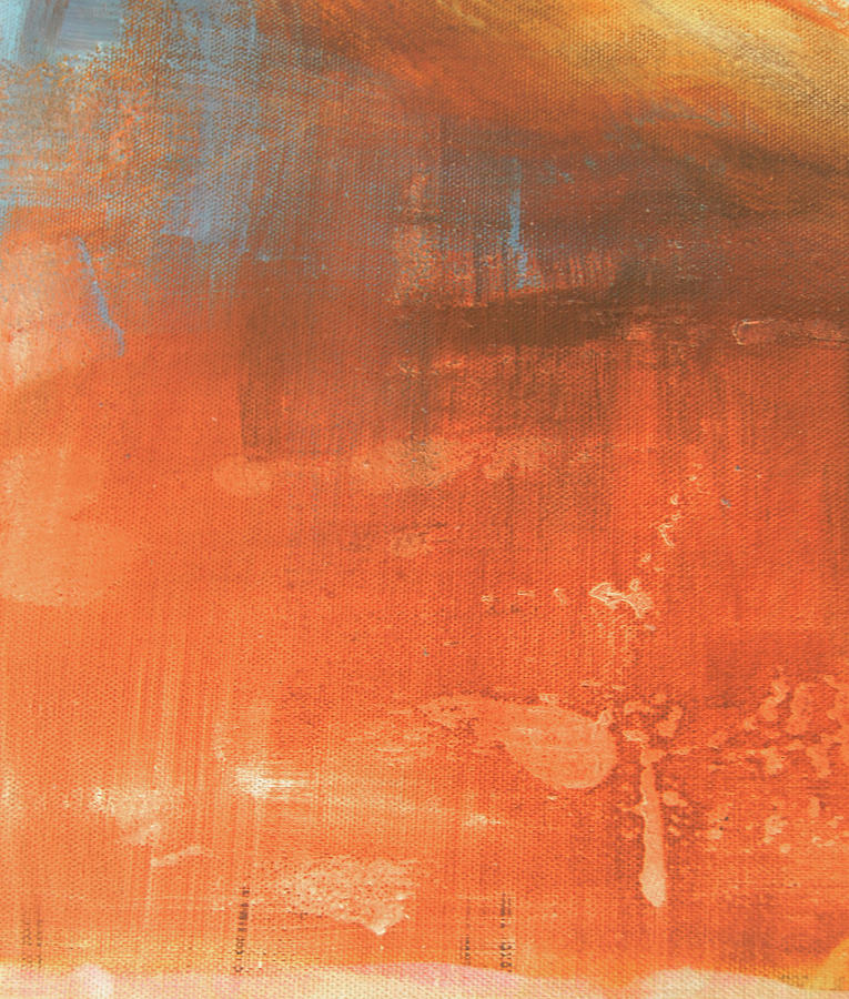 Abstract in orange by Jocelyn Friis