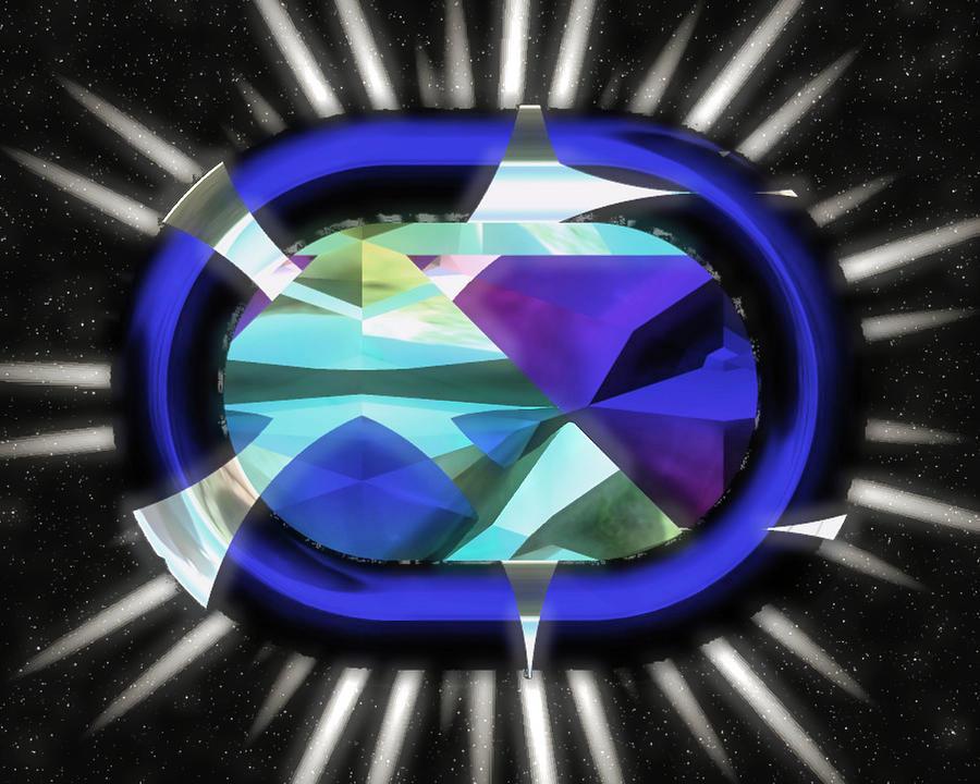 Abstract Jewel by Mario Carini