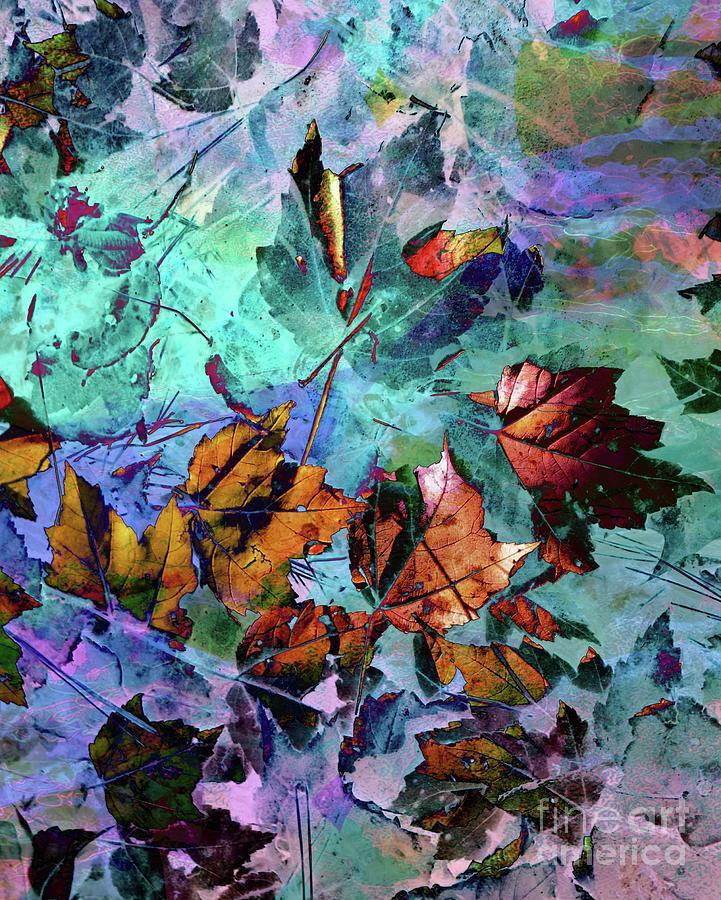 Abstract Leaves by Marcia Lee Jones