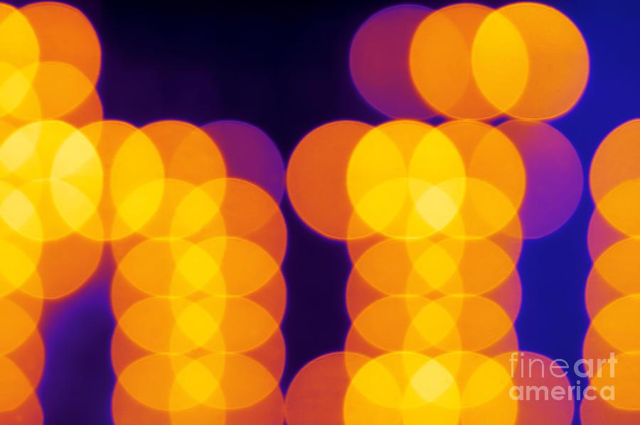 Atmosphere Photograph - Abstract Lights by Juha Sompinmaeki