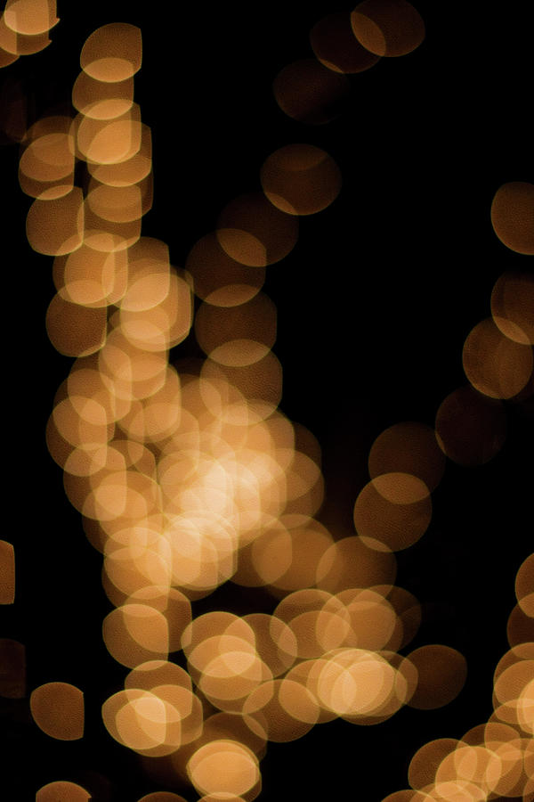Abstract Lights Photograph by Miss pj