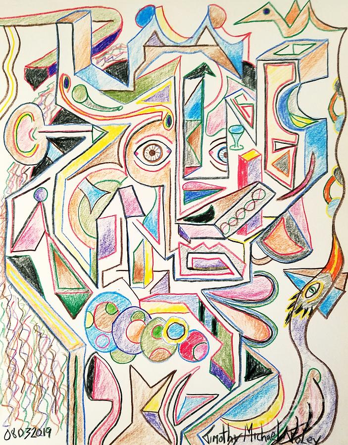 Abstract Lines and Forms  by Timothy Foley