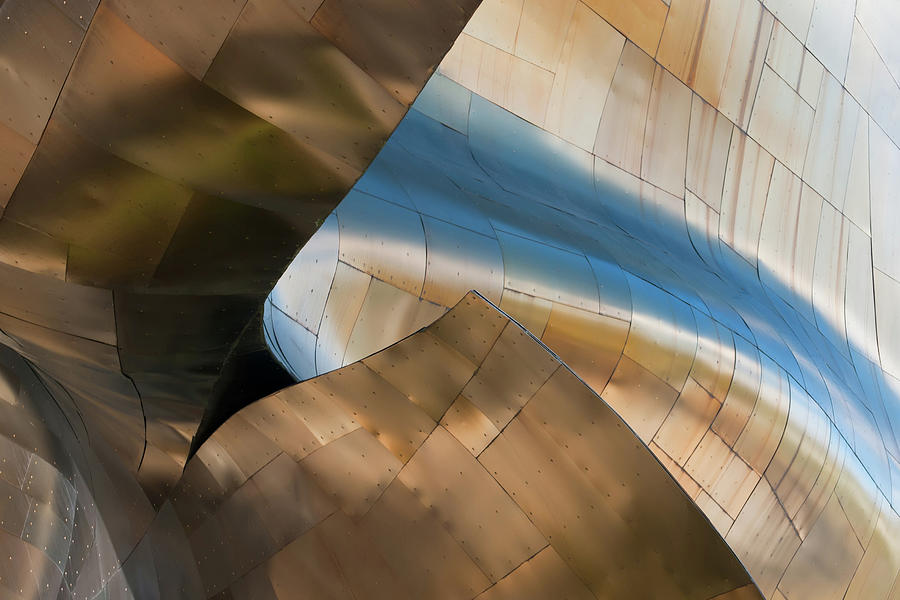 Abstract Metal Patern Photograph by Fransdekkers