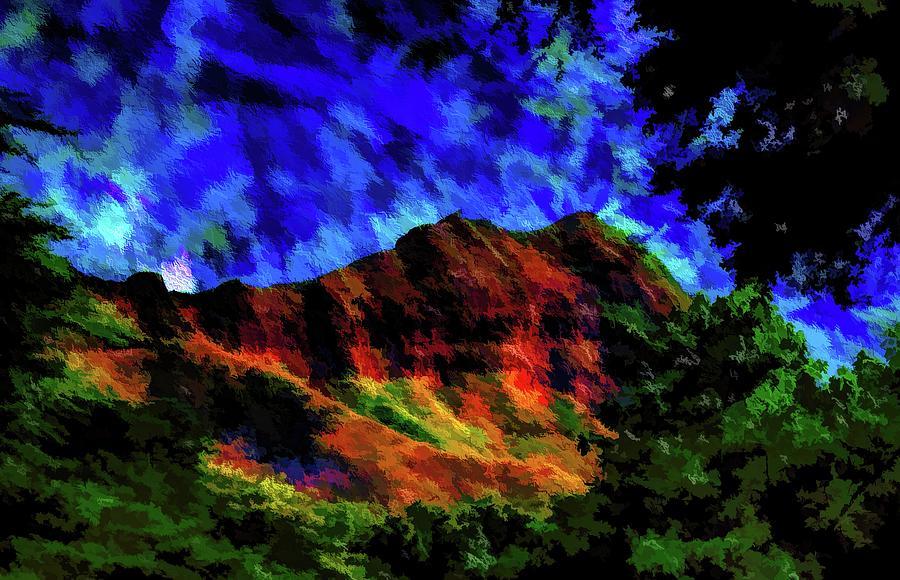 Abstract Mountains 61 Photograph