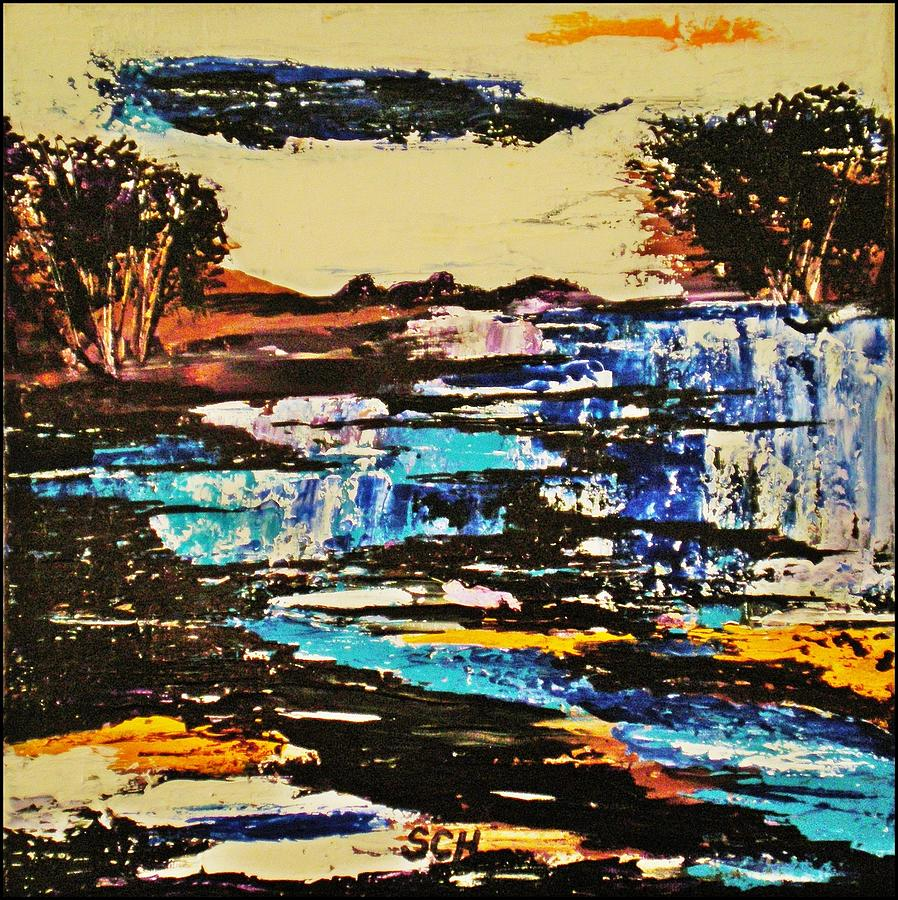 Abstract Mixed Media - Abstract Nature by Scott Haley