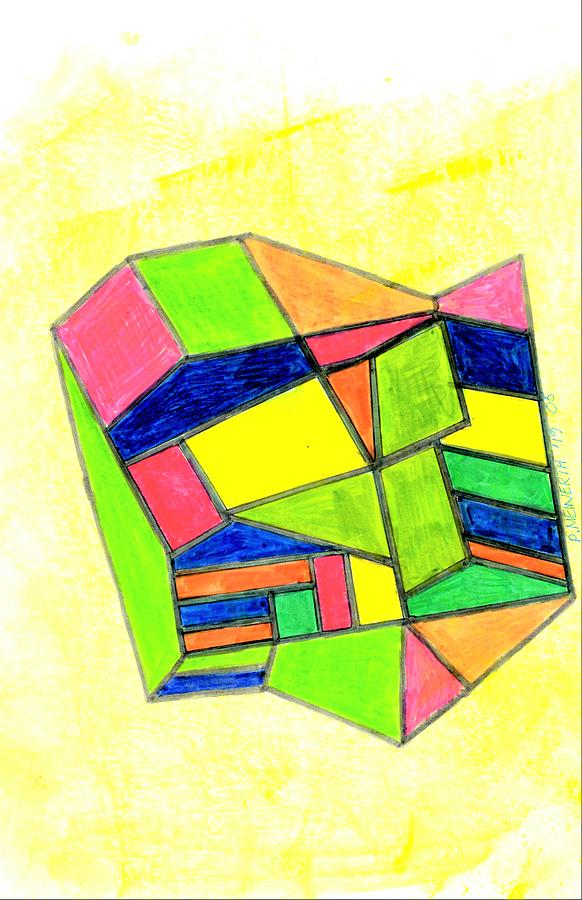 Abstract Number 5 Drawing