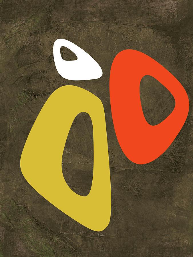 Abstract Oval Shape Iii