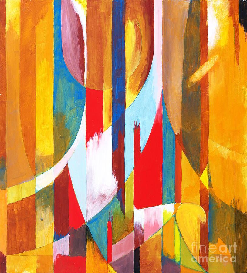 Modernist Photograph - Abstract Painting by Clivewa