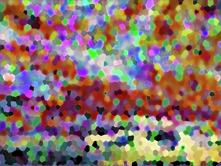 Abstract Palette 3001 by Corinne Carroll