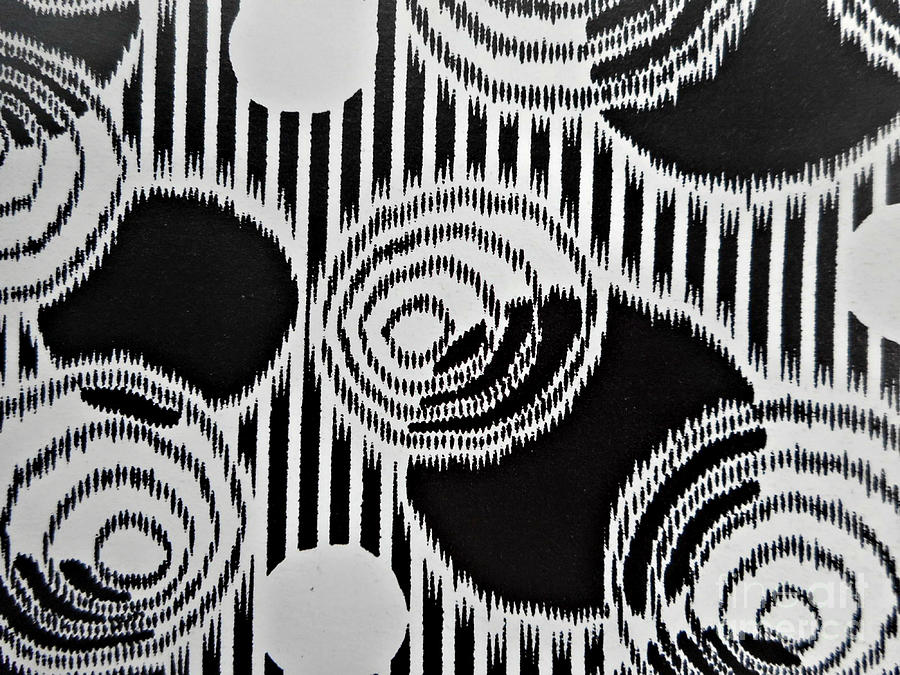 Abstract Pattern 1-colour 1 Painting