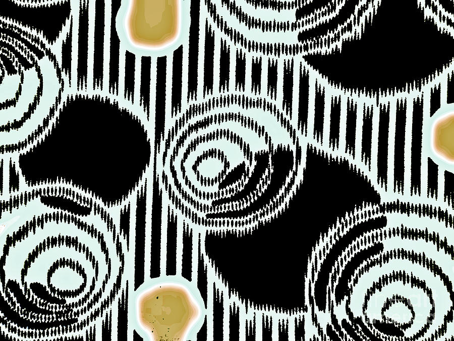 Abstract pattern 1-colour 20 by Katerina Stamatelos