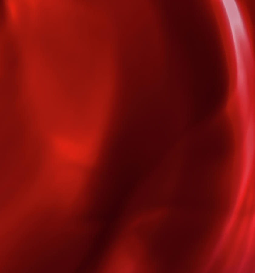 Abstract Red I by Anne Leven