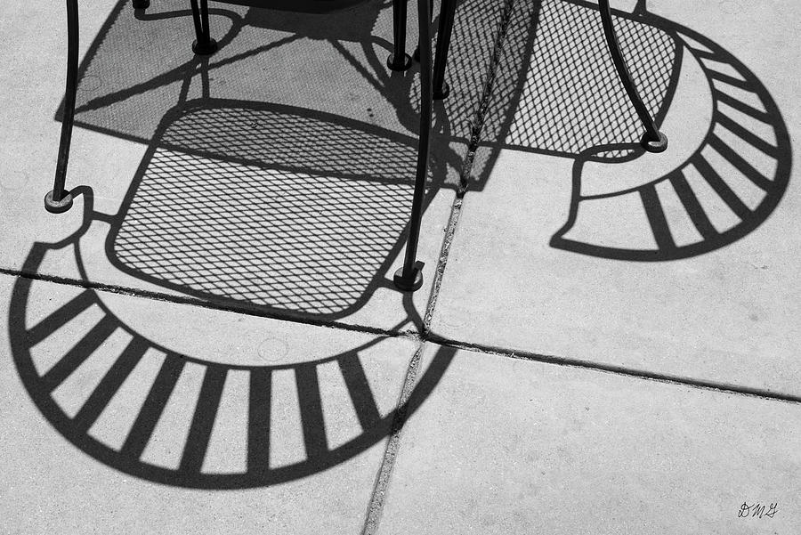 Abstract Shadows IV BW by David Gordon