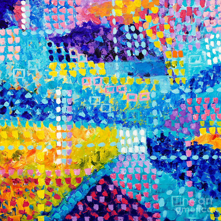 Abstract Squares by Art by Danielle