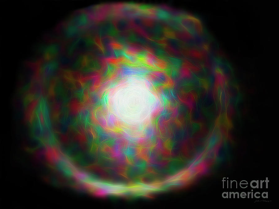 Abstract Sun Ring by John A Rodriguez