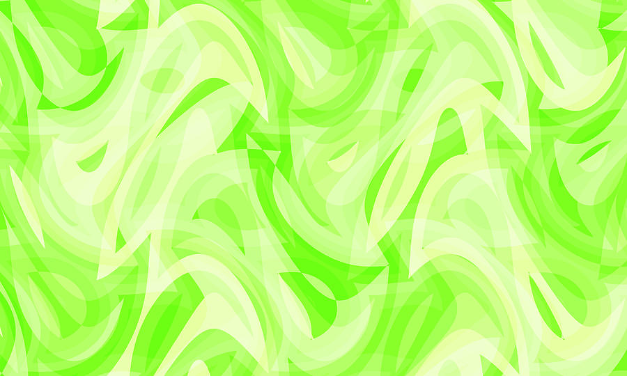 Waves Digital Art - Abstract Waves Painting 0010076 by P Shape