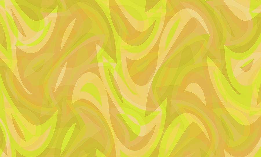 Waves Digital Art - Abstract Waves Painting 0010091 by P Shape