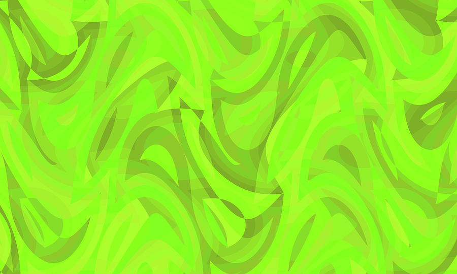 Waves Digital Art - Abstract Waves Painting 0010093 by P Shape