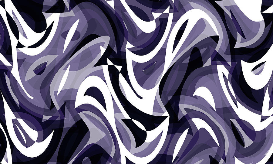 Abstract Waves Painting 0011469
