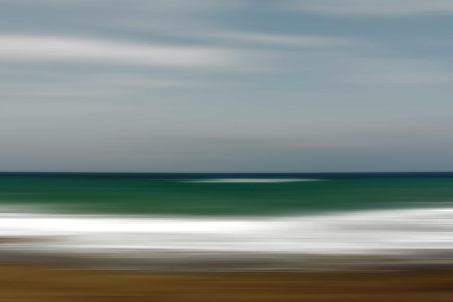 Abstract Photograph - Abstract Waves by Vicente Sargues