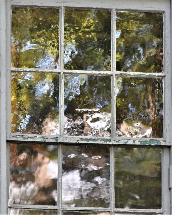 Abstract Window Reflections by Kim Bemis