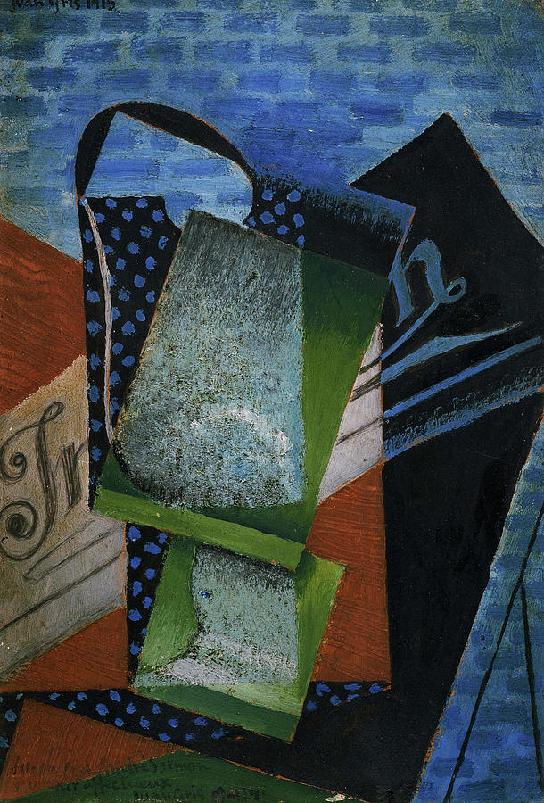 Juan Gris Painting - Abstraction, 1915 by Juan Gris