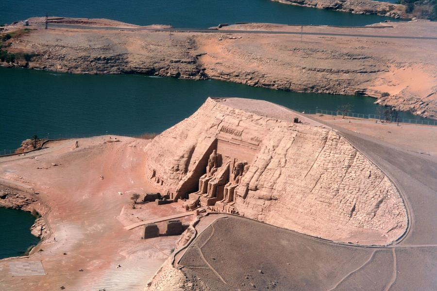 Abu Simbel From The Air Photograph by Joe & Clair Carnegie / Libyan Soup