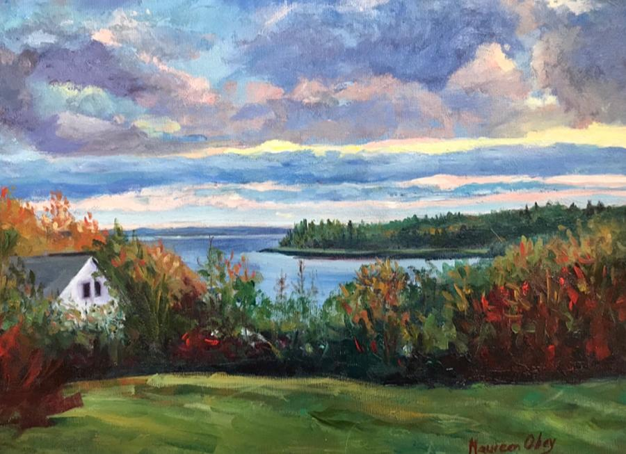 Acadia Sunrise  by Maureen Obey