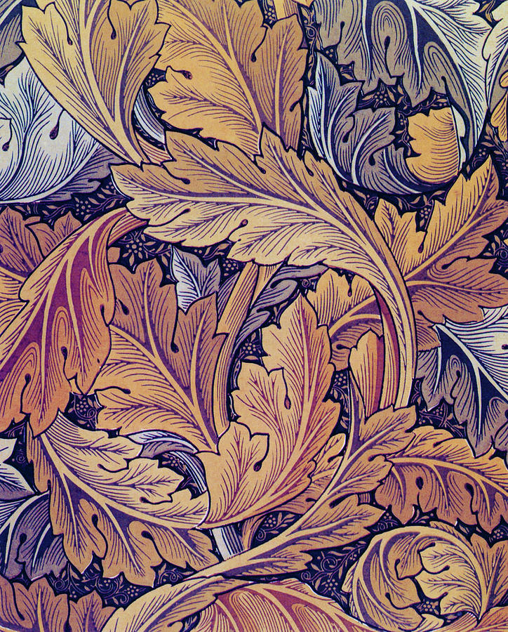 Acanthus Painting - Acanthus - Digital Remastered Edition by William Morris