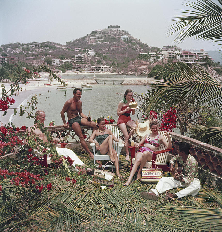 Acapulco Afternoon Photograph by Slim Aarons