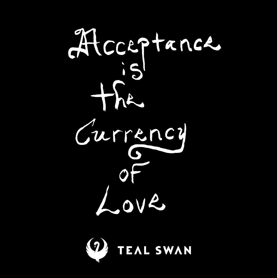 Acceptance Quote by Teal Eye Print Store