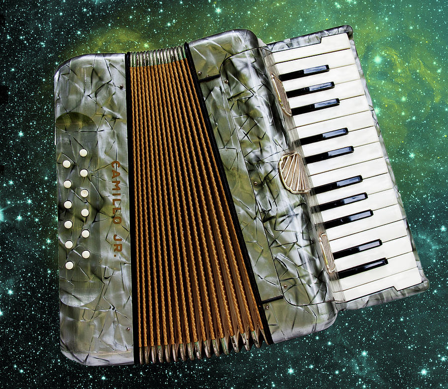 Accordion Universe by Peggy Collins