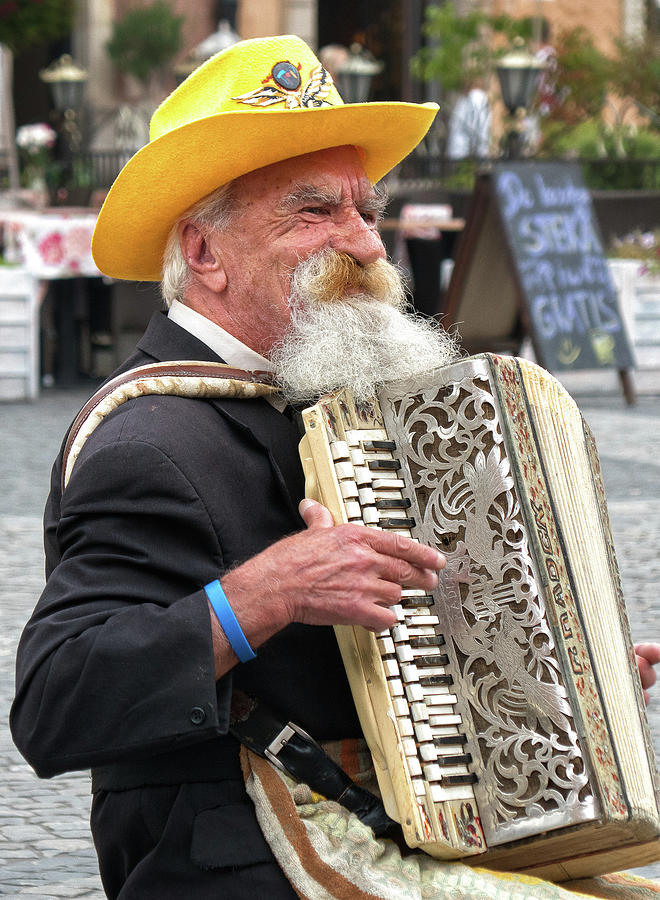 Accordionist by Photos By Pharos