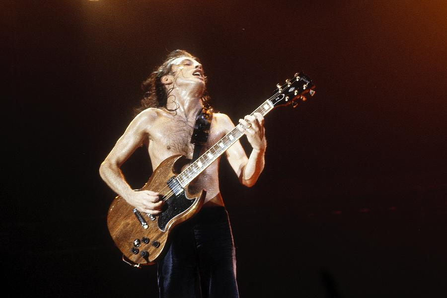 Acdc Live Photograph by Larry Hulst