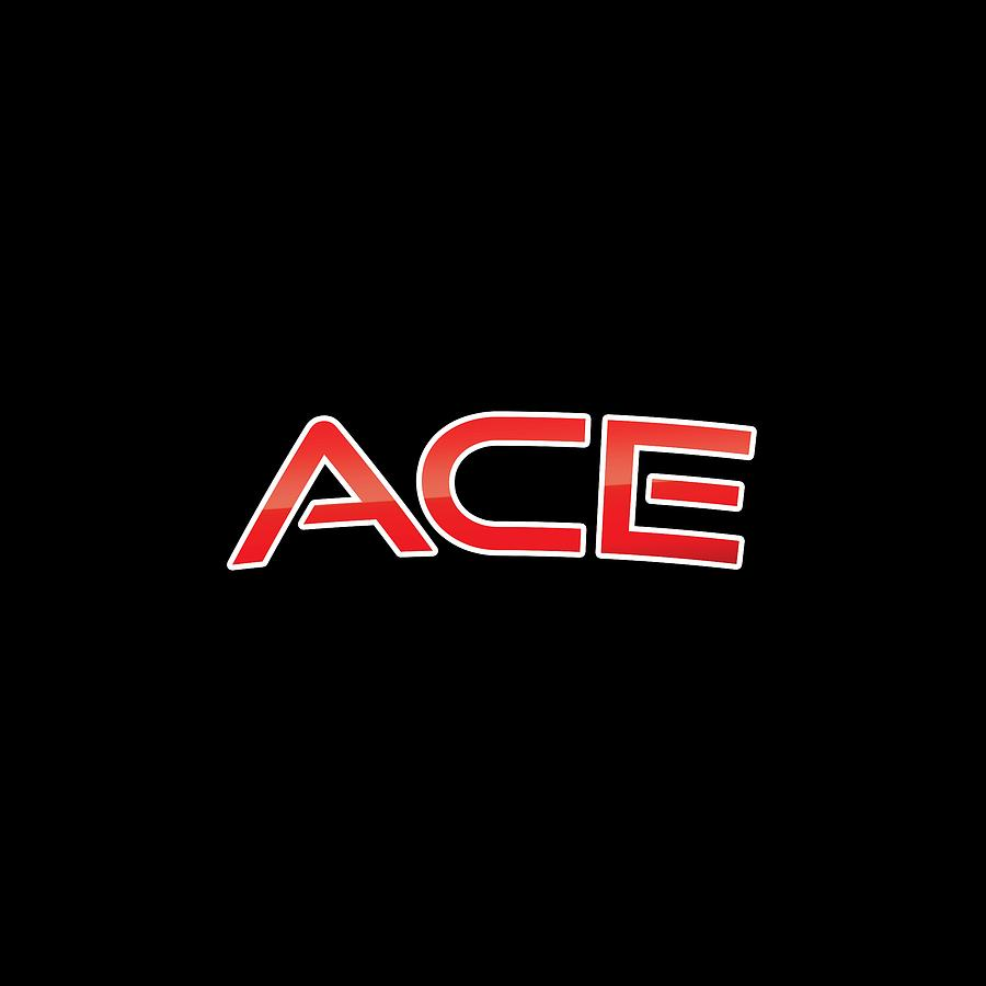 Ace Digital Art - Ace by TintoDesigns