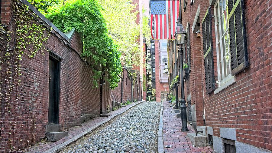 Acorn St. Boston, Ma Photograph