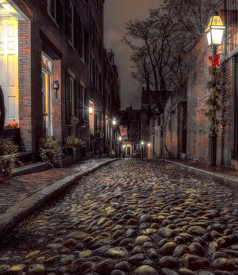 Acorn Street by Jim Bosch