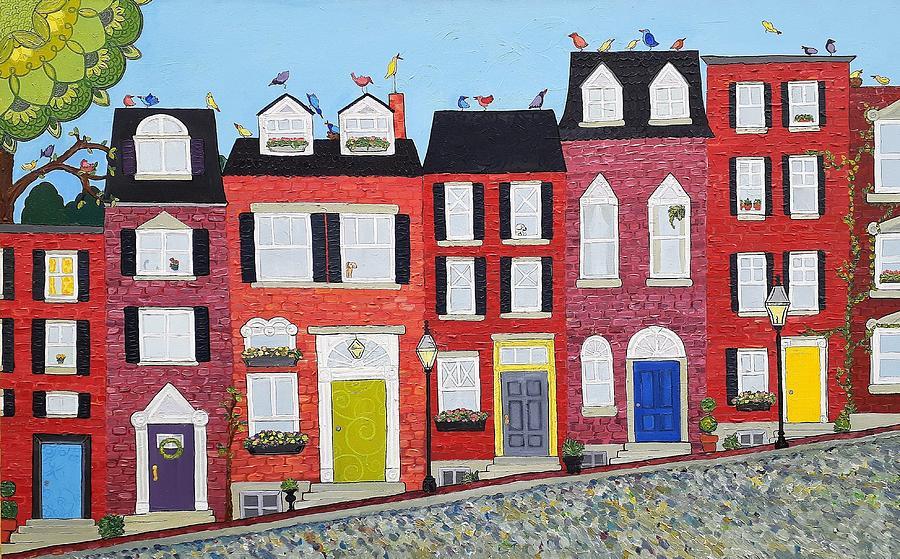 Acorney Street by Caroline Sainis